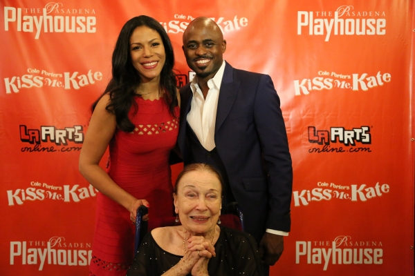 Merle Dandridge,  Wayne Brady, and Patricia Morison