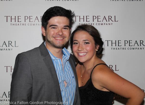 Chris Carter and Alexandra Schwartz Photo