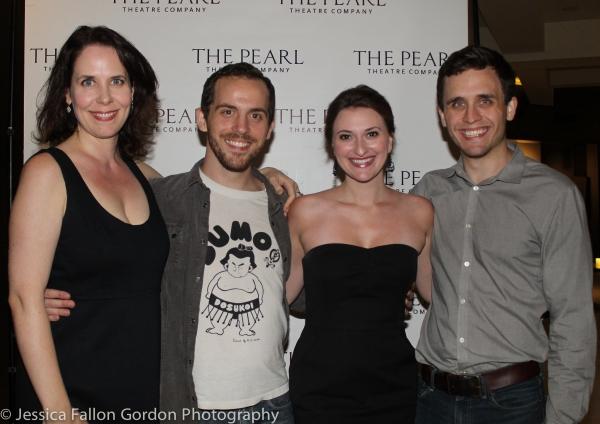Maggie Fales, Ryan Krause, Lauren Nordvig and John Hardin