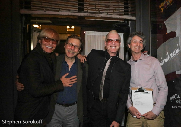 Chuck Steffan, Barry Kleinbort, director, Ron Abel, music director, Rick Hinkson