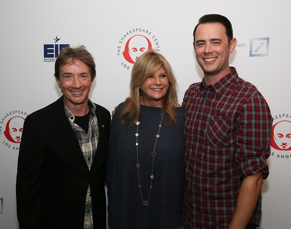 Photo Flash: Inside 2014 'Simply Shakespeare' Benefit Reading with Rita Wilson, Paul Simon & More
