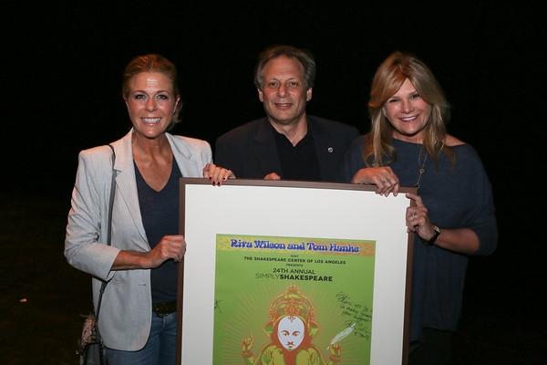 Rita Wilson, Ben Donenberg, Lisa Paulsen