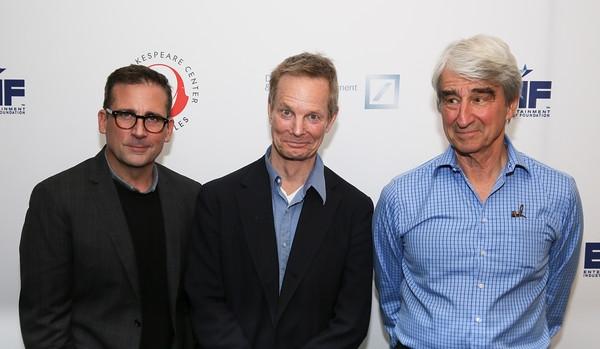 Steve Carell, Bill Irwin, Sam Waterson