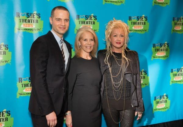 Jordan Roth, Daryl Roth, Cyndi Lauper