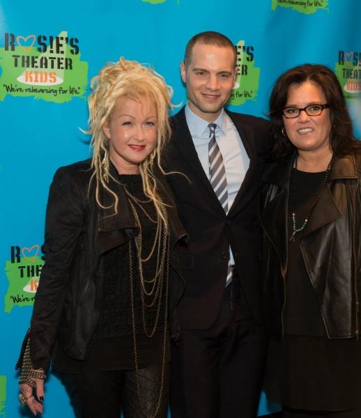 Cyndi Lauper, Jordan Roth, Rosie O''Donnell