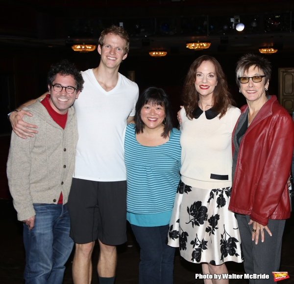 musical director Andy Einhorn, Joe Carroll, Ann Harada, Lesley Ann Warren and Producer Robyn Goodman