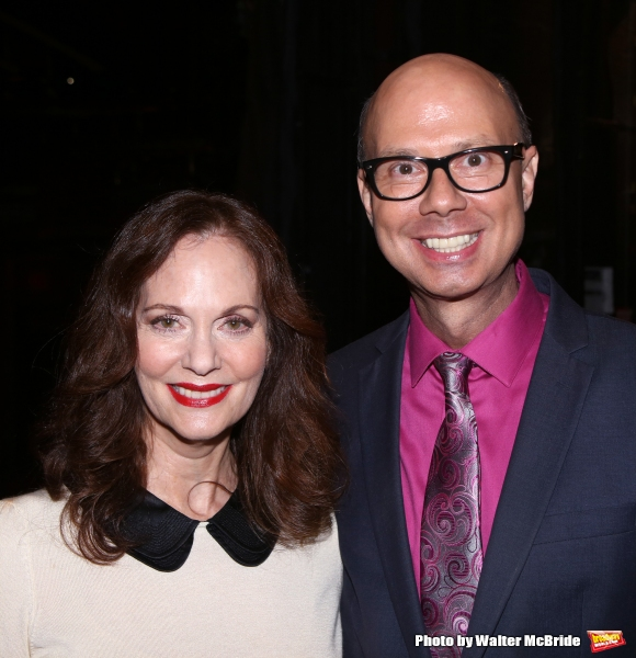 Lesley Ann Warren and Richard Ridge