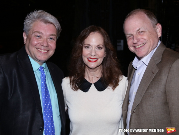 Richard Skipper, Lesley Ann Warren and Douglas Denoff