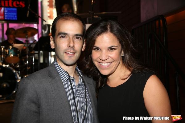 Marc Bruni and Lindsay Mendez