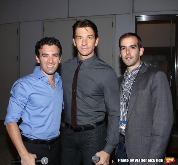Jarrod Spector, Andy Karl and Marc Bruni