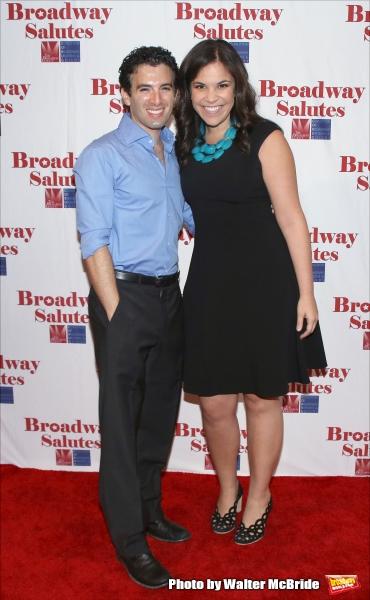 Jarrod Spector and Lindsay Mendez