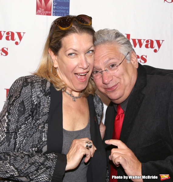 Photo Coverage: Backstage at BROADWAY SALUTES 2014