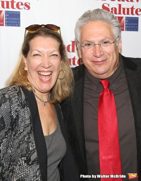 Adinah Alexander and Harvey Fierstein