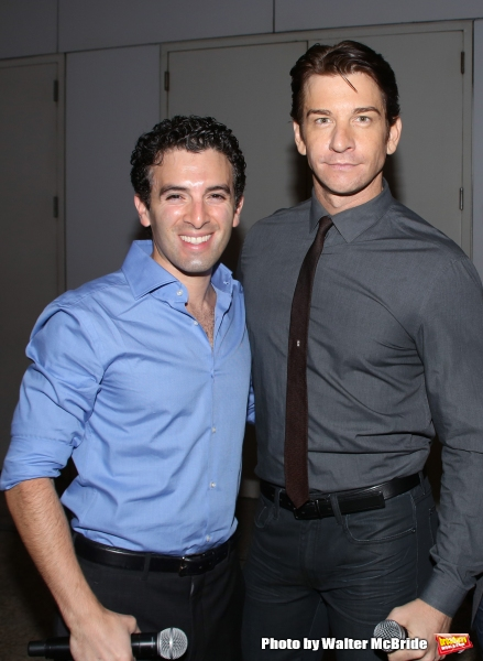 Jarrod Spector and Andy Karl