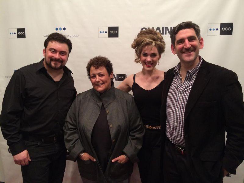 Photo: ORANGE IS THE NEW BLACK's Barbara Rosenblat Visits TALK RADIO Off-Broadway