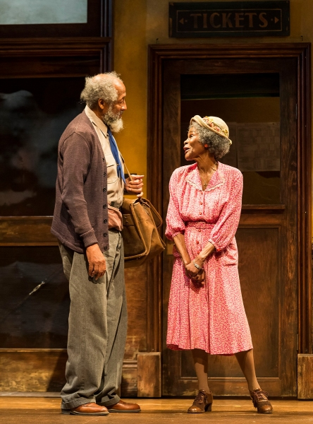 Arthur French and Cicely Tyson Photo