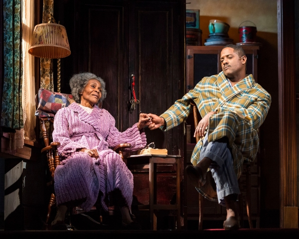 Cicely Tyson and Blair Underwood
