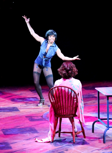 Bahiyah Hibah as Velma with Heather Parcells (Roxie)