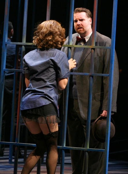 Nick Kohn (Amos) with Heather Parcells (Roxie)
