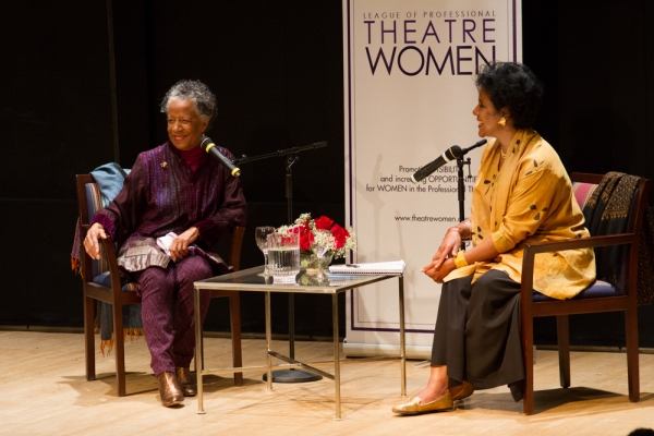 Billie Allen and Phylicia Rashad
