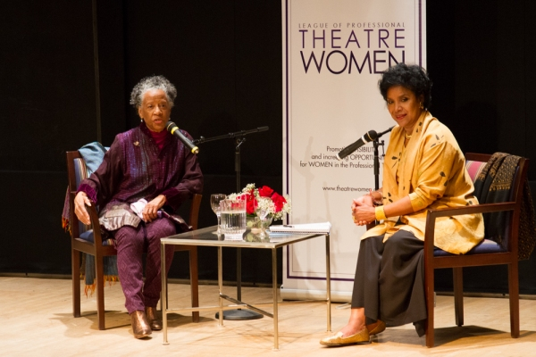 Photos: Phylicia Rashad Interviews Billie Allen for LPTW 'Oral History' Event