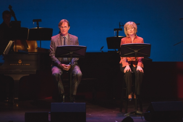 Richard Thomas and Jill Eikenberry perform a scene from ''Love Letters'' by A. R. Gurney.