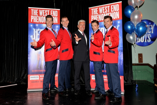 Lewis Griffiths (cast member), Sam Ferriday (cast member), David Ian (producer), Tim Driesen (cast member) and Stephen Webb (cast member)