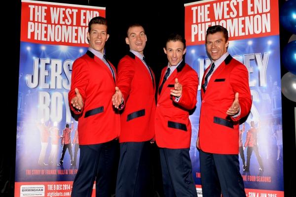 Lewis Griffiths (cast member), Sam Ferriday (cast member), Tim Driesen (cast member) and Stephen Webb (cast member)