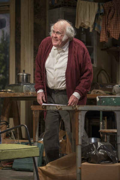 Maurice (M. Emmet Walsh) expresses his feeling of helplessness  Photo