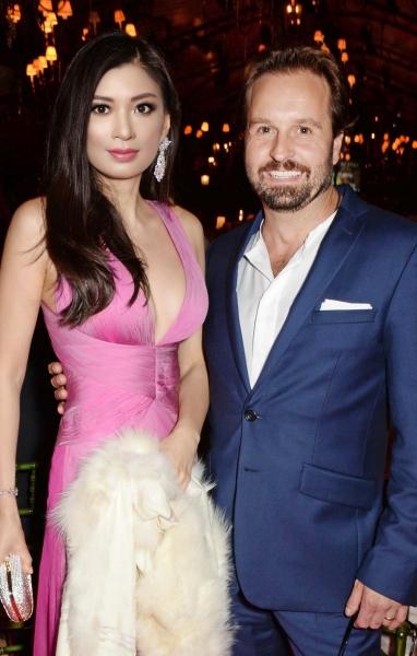 Rebecca Wang and Alfie Boe