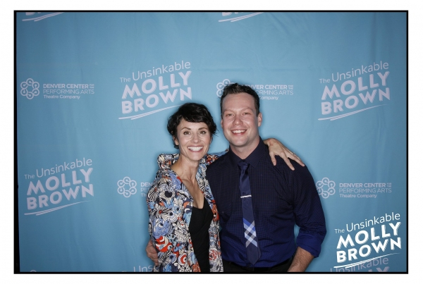 Photo Flash: First Look at Beth Malone, Burke Moses and More in Opening Night of THE UNSINKABLE MOLLY BROWN