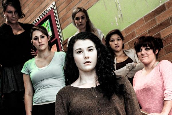 Emily Canavan, Jessica Hood, Tegan Verheul, Ranae Miller, Emma Wong, and Erin Elise Walker
