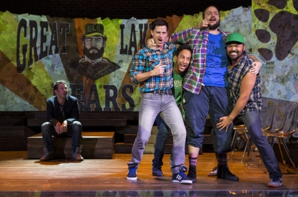 Photo Flash: Nick Blaemire, Danny Pudi, Barrett Wilbert Weed, Betsy Morgan & More Star in Hunter Bell, Lee Overtree & Eli Bolin's FOUND Off-Broadway