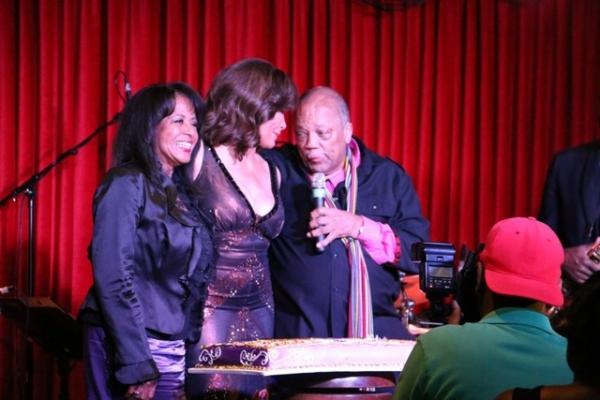 Sherri Payne, Freda Payne and Quincy Jones sending a Birthday blessing
