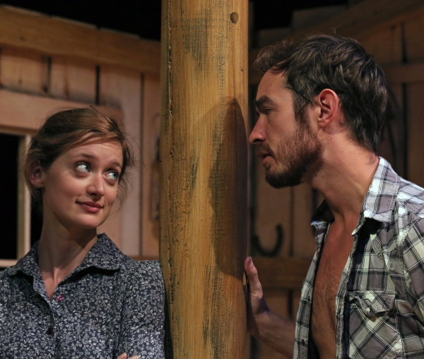 Laurel Casillo as Lizzie and Max Waszak as Starbuck Photo
