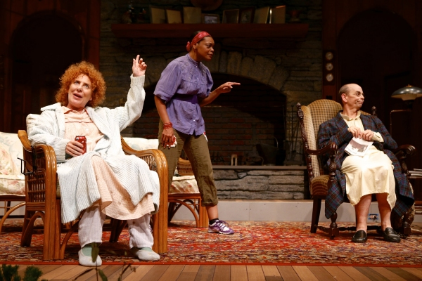 Dori Legg (as Sonia), Lisa Renee Pitts (as Cassandra), and Larry Paulsen (as Vanya)