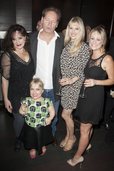 Harriet Thorpe, Kiruna Stamell, Richard Bean, Lucy Punch and Kellie Shirley