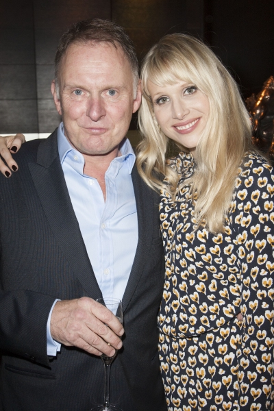 Robert Glenister and Lucy Punch