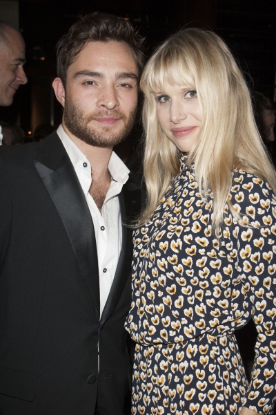 Ed Westwick and Lucy Punch