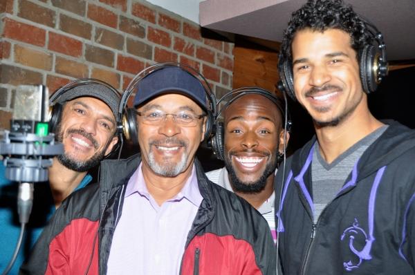 Dennis Stowe, Clifton Davis, Donald Jones, Jr. and Jaz Sealey Photo