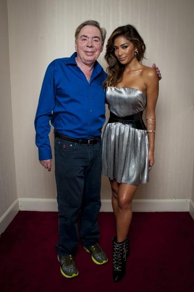 Andrew Lloyd Webber and Nicole Scherzinger