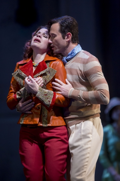 Ana Maria Martinez and Mariusz Kwiecien Photo