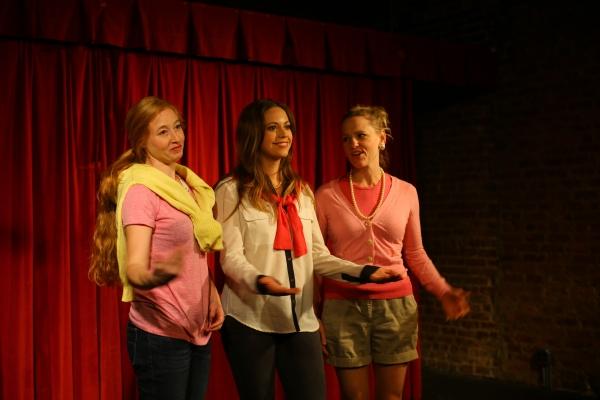 Jes Bedwinek, Cortney Wolfson, and Anika Larsen