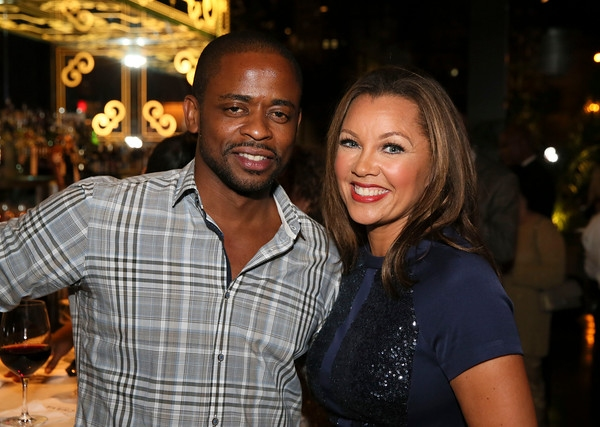 Dule Hill and cast member Vanessa Williams