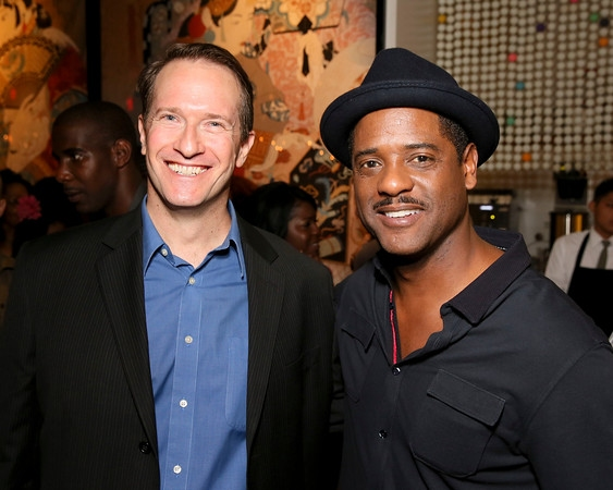 Russell Edge and Blair Underwood