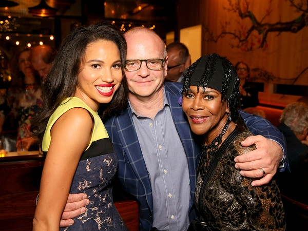 Jurnee Smollett-Bell, Director Michael Wilson and cast member Cicely Tyson
