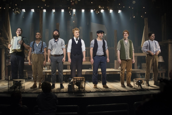 Photo Flash: PigPen Theatre Co. Celebrates Opening Night of THE OLD MAN AND THE OLD MOON