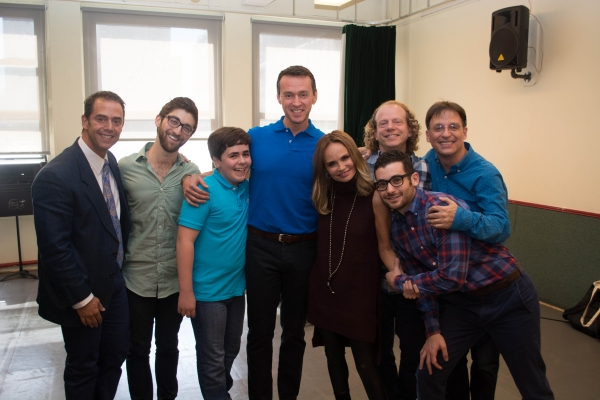 Producer Bruce Robert Harris, Producer Rob Nanus, Noah Marlowe, Andrew Lippa, Kristin Chenoweth, Producer Bruce Cohen, Director Noah Himmelstein and Music Director and Conductor Joel Fram