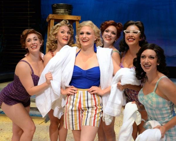 Stephanie Cowan, Maria Logan, Haley Swindal (Nellie  Forbush), Ashley Lanyon, Laura Yen Solito and Sarah Ellis perform ''I''m Gonna wash that Man Right Outa My Hair''