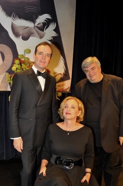 Jefferson Mays, J. Smith Cameron and Terry Teachout